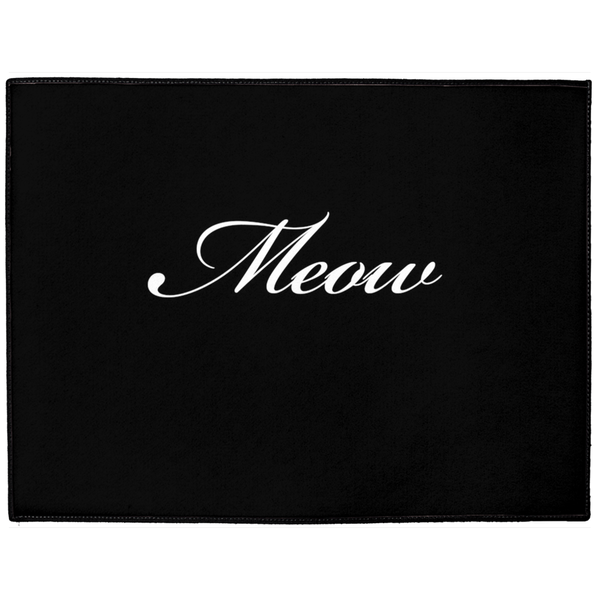 Meow Indoor/Outdoor Floor Mat