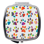 Rainbow Paw Compact Mirror | Meow Cat Imports