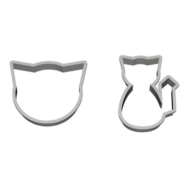 Cat Duo Cookie Cutters-Meow Cat Imports