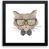 Framed Meow Cat Imports Poster-Meow Cat Imports