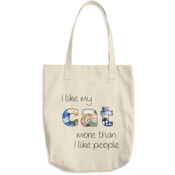 I Like Cats More Than People Tote Bag-Meow Cat Imports