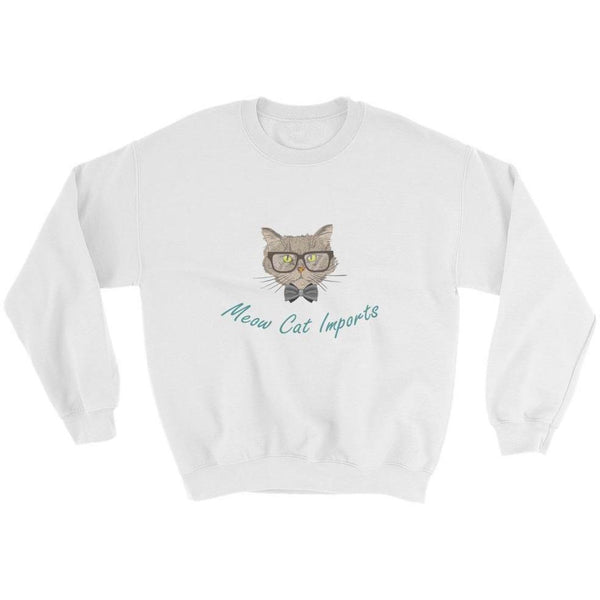 Meow Cat Imports Sweatshirt (with full logo)-Meow Cat Imports