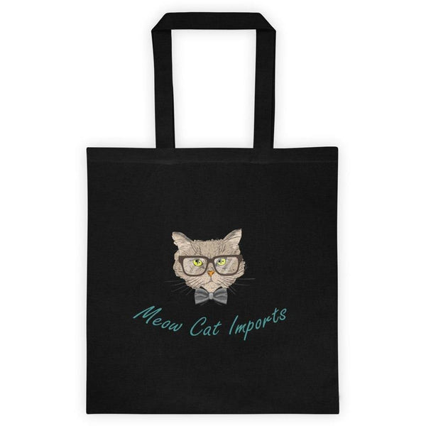 Meow Cat Imports Tote Bag (with full logo)-Meow Cat Imports