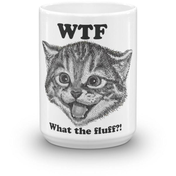 What The Fluff Mug-Meow Cat Imports