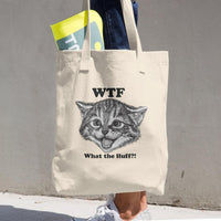 What The Fluff Tote Bag-Meow Cat Imports