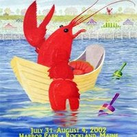 Official 2002 Maine Lobster Festival Poster