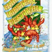 Official 2007 Maine Lobster Festival Poster