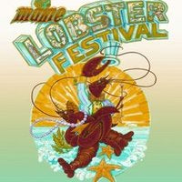 Official 2008 Maine Lobster Festival Poster