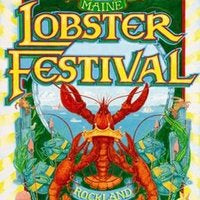 Official 2009 Maine Lobster Festival Poster