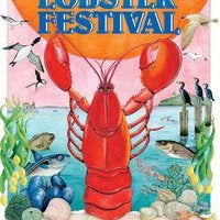 Official 2010 Maine Lobster Festival Poster