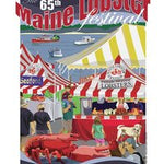Official 2012 Maine Lobster Festival Poster