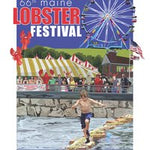Official 2013 Maine Lobster Festival Poster