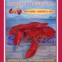 Official 2015 Maine Lobster Festival Poster