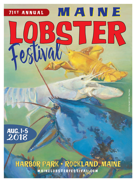 Official 2018 Maine Lobster Festival Poster
