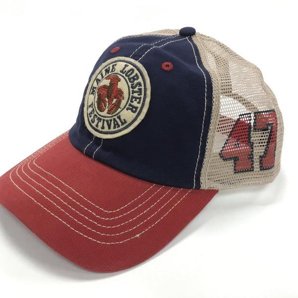 Official Maine Lobster Festival Souvenir Retro Hat