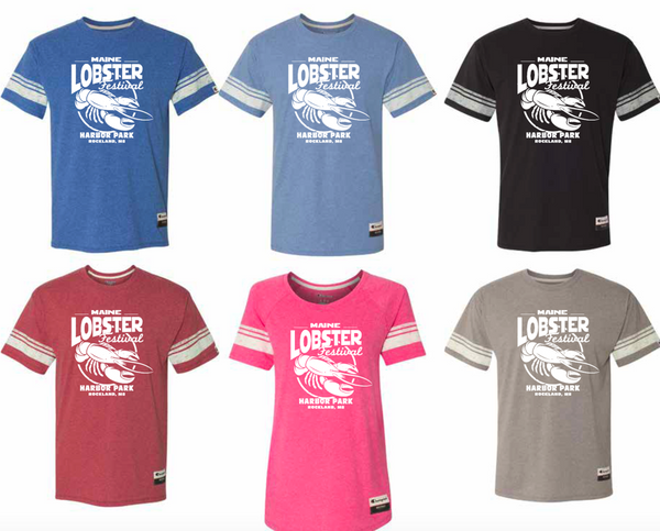 Official Maine Lobster Festival Champion Varsity T-Shirt