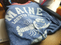 Official Maine Lobster Festival Souvenir Fanatic Shirt