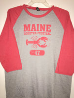 Official Maine Lobster Festival Raglan T-Shirt