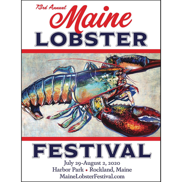 2020 Maine Lobster Festival Poster