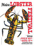 2019 Maine Lobster Festival Poster
