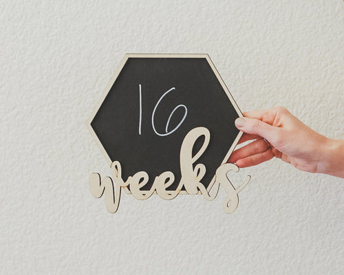 Milestone Bump Board - Weeks Countdown