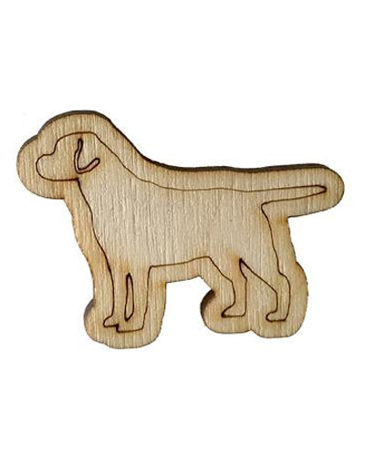 Wooden Growth Chart Ruler Board Milestone Marker - Dog