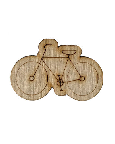 Wooden Growth Chart Ruler Board Milestone Marker - Bicycle