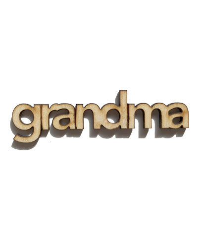 Grandma Milestone Marker - cut out LC