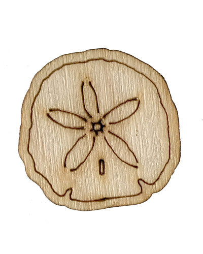 Wooden Growth Chart Ruler Board Milestone Marker - Sand Dollar