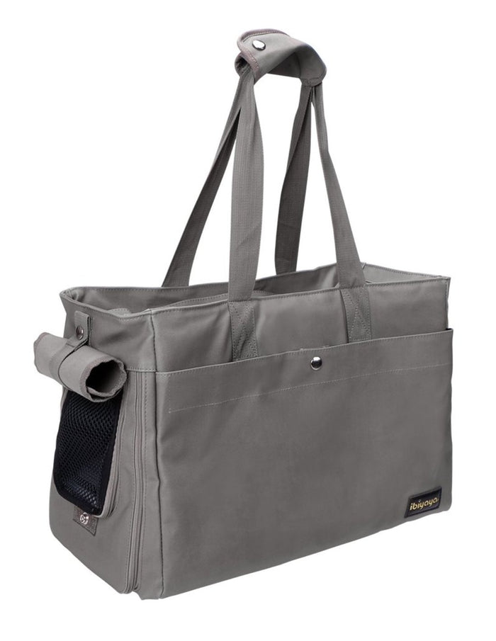 Bolso Canvas Pet Tote Gray