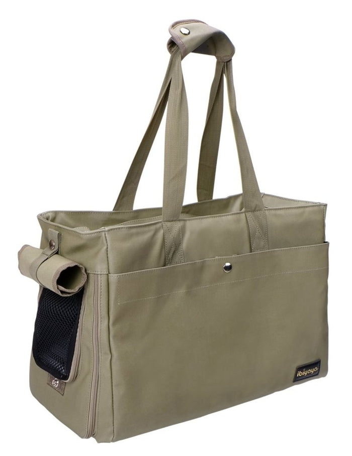 Bolso Canvas Pet Tote Light Green