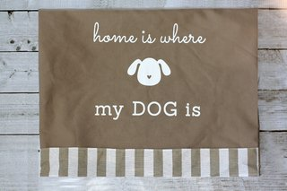 Funda para cama Home is Where My Dog Is