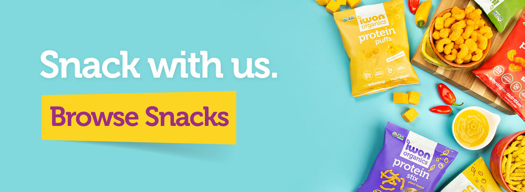 Snack with us. Browse Snacks.