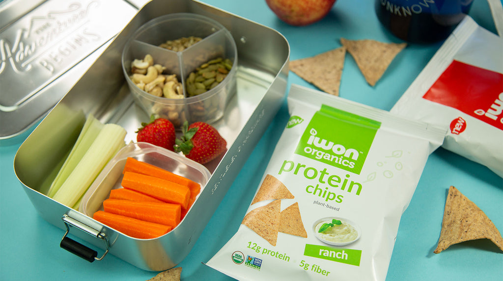 iwon organics protein snacks and healthy food