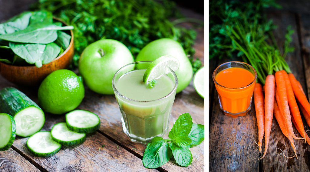 let's look at juicing.