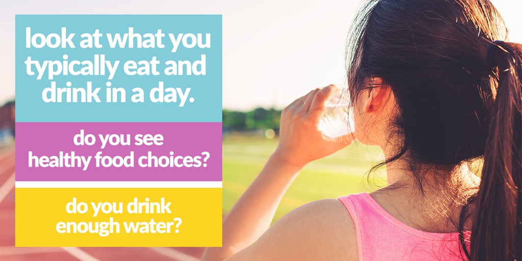 Are you eating healthy and drinking enough water?