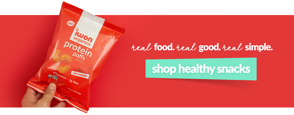 click to shop healthy snacks.