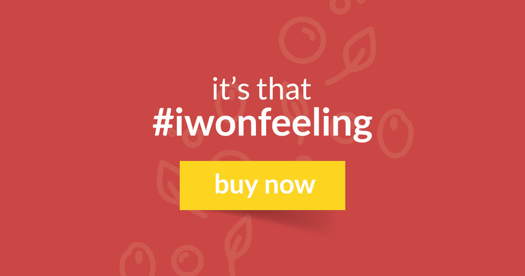 its that #iwonfeeling! buy now.