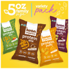 Family Size Variety Pack (4 bags, 5oz each)