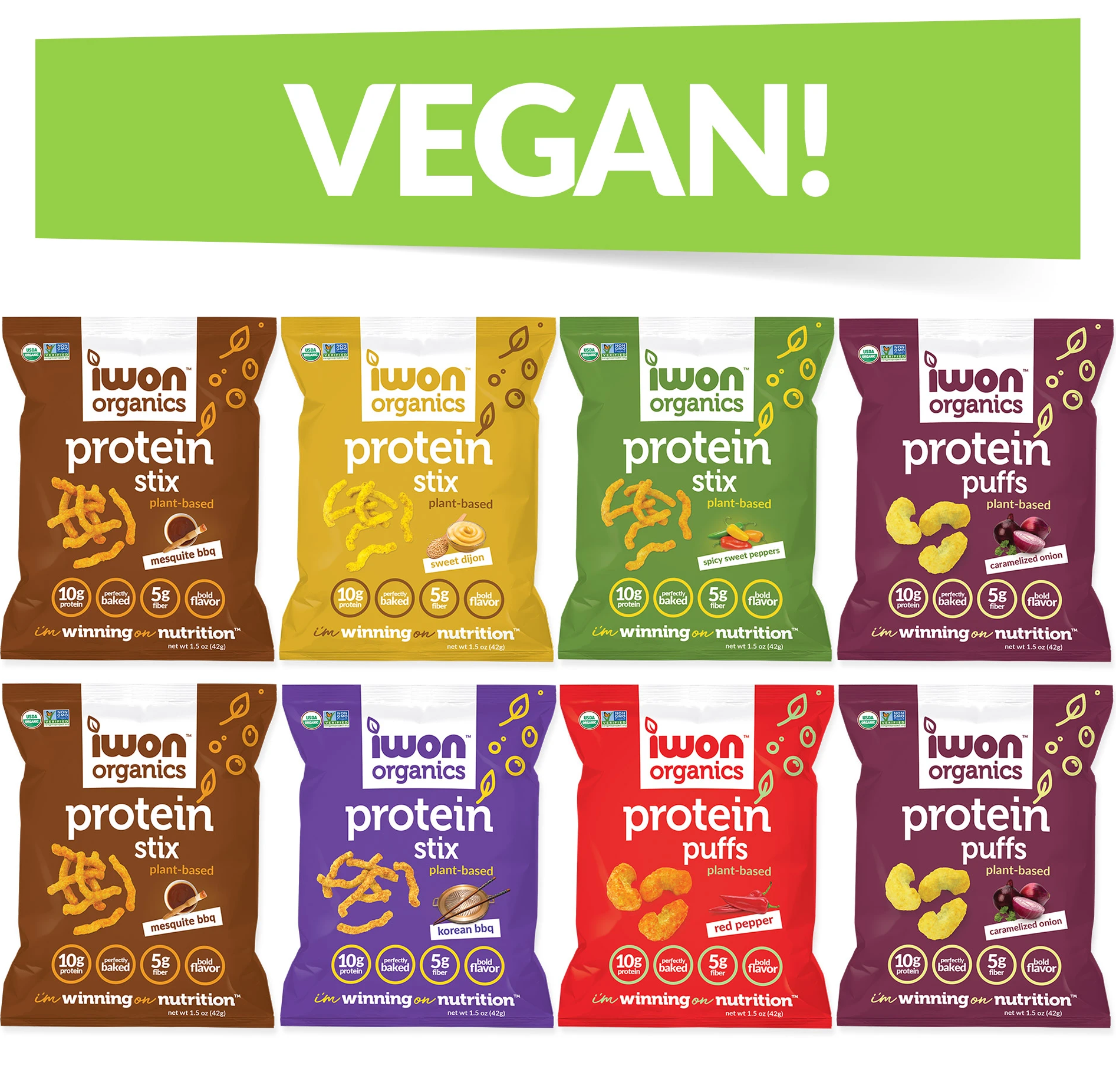 Vegan Sample Pack