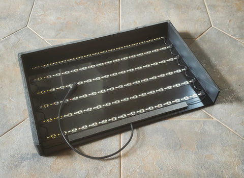 "16"" x 12"" LED Light Strip Panel (2"" high)"