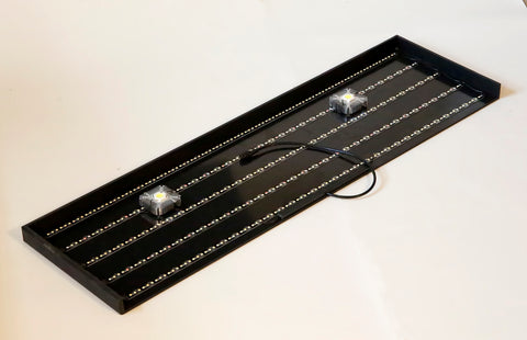 "34"" x 10"" with Dual 10w Spotlights"
