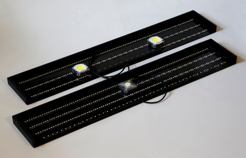 "34"" x 6"" LED Spot (50w) & Strip Light Panel 2X"