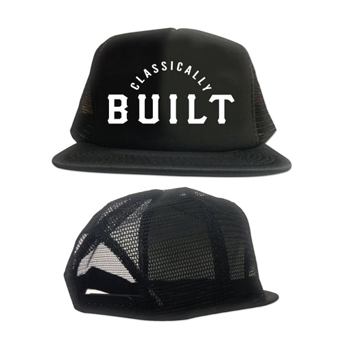 Classically Built Logo Foam Trucker Hat