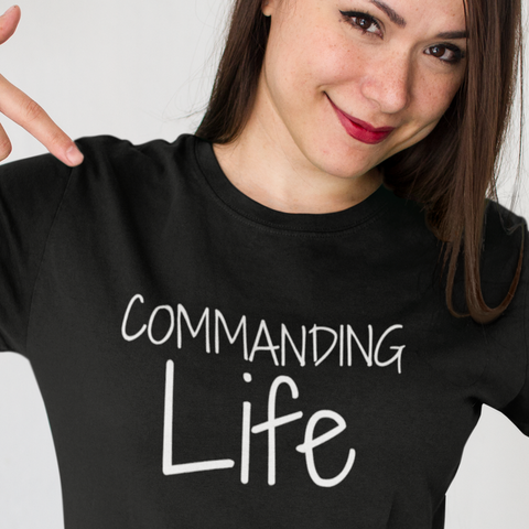 COMMAND - (Women T-shirt - DARK)