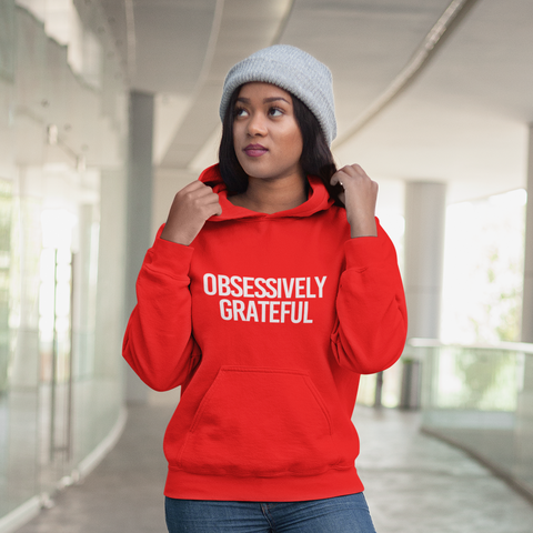 GRATEFUL Hooded Sweatshirt (Unisex+Colors)
