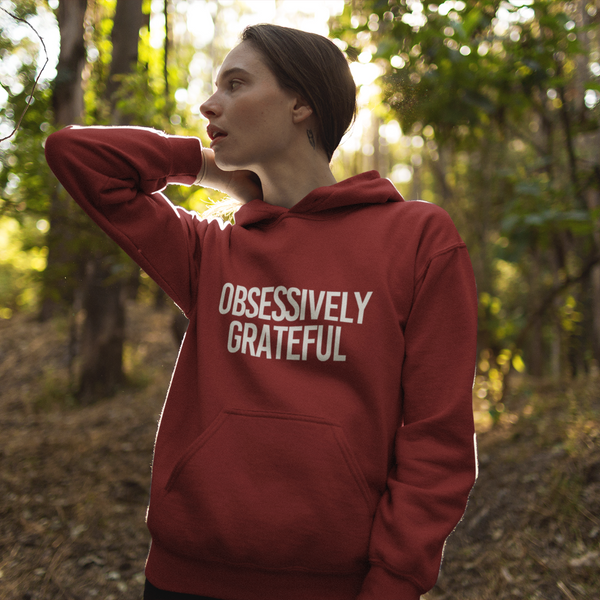 Sweatshirt - GRATEFUL Hooded Sweatshirt (Unisex+Colors)