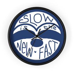 Slow is the New Fast - Sloth Face - Wall clock - Sloth and Sloth [Product_type], Sloth and Sloth, Baby sloth, slothandsloth