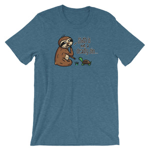 Sloth is Not a Deadly Sin - Short-Sleeve Men's/Unisex T-Shirt - Sloth and Sloth [Product_type], Sloth and Sloth, Baby sloth, slothandsloth