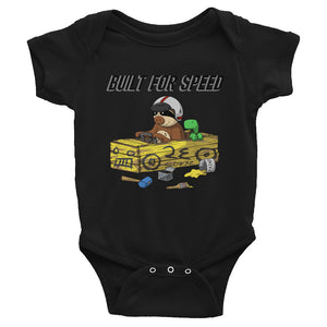 Built for Speed - Racing Sloth - Baby Bodysuit - Infant Clothing - Sloth and Sloth [Product_type], Sloth and Sloth, Baby sloth, slothandsloth